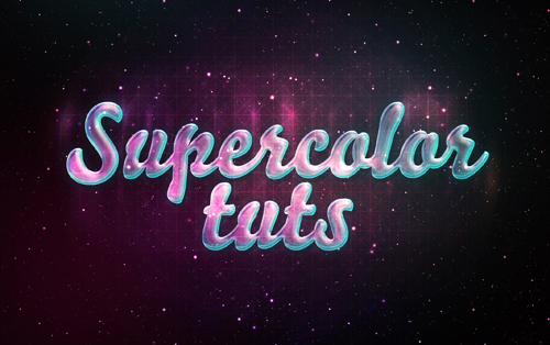 Photoshop typography tutorials - 16