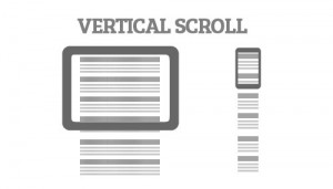 Vertical Scroll