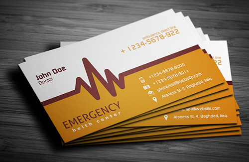 Business cards design 35 fresh examples design graphic design professional business cards design reheart Choice Image