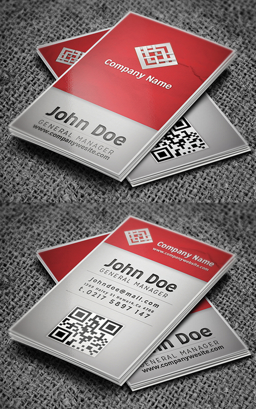 Business cards design 35 fresh examples design graphic design corporate business card colourmoves