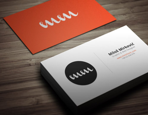 Business Cards Design – 35 Fresh Examples