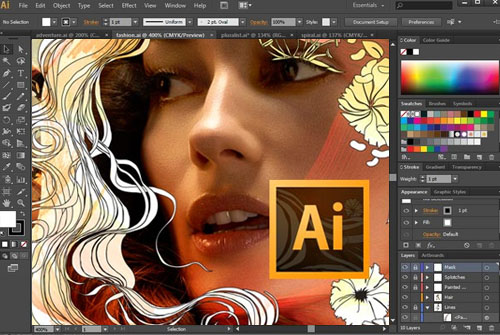 adobe illustrator برنامج