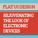 Post thumbnail of Flat UI Design – Rejuvenating the Look of Electronic Devices