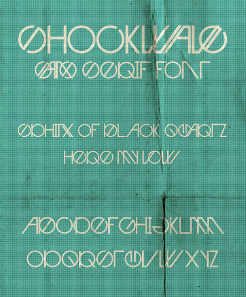 Shockwave Free Fonts
