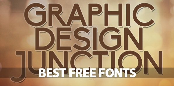 15 Best Free Fonts Fonts Graphic Design Junction