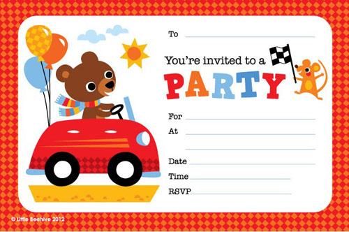 party invites online free