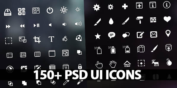 150+ Beautiful UI Icons for Designers