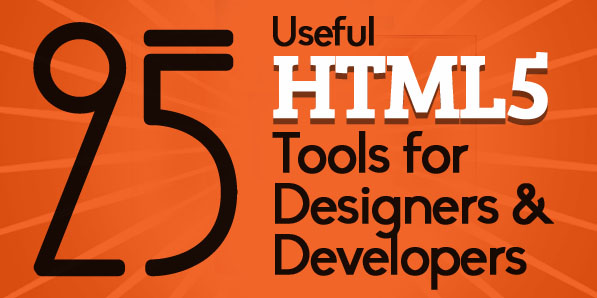 25 Useful HTML5 Tools For Designers & Developers