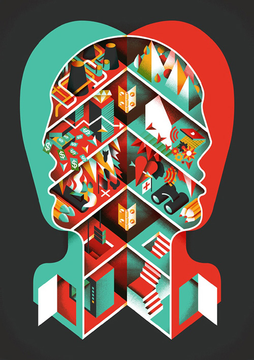 Colorful Vector Illustration Posters 3