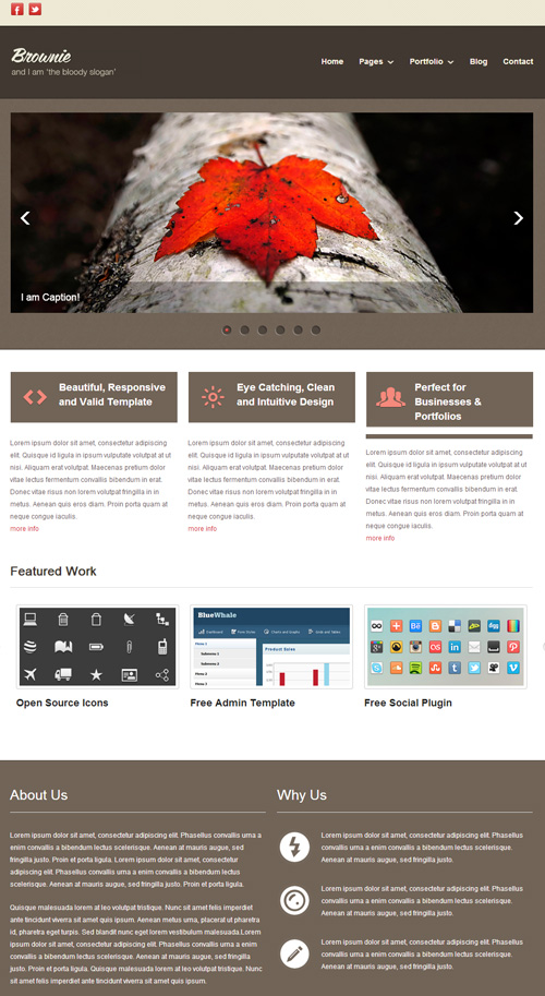 Free responsive web templates with psd freebies graphic design free psd web templates 2013 wajeb Choice Image