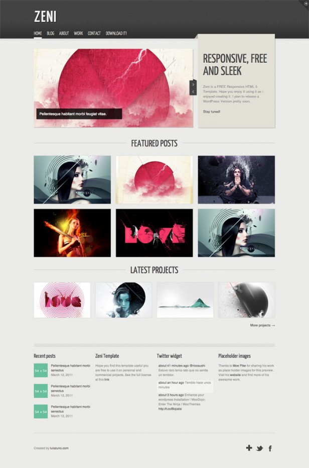 Free responsive web templates with psd freebies graphic design free psd web templates 2013 maxwellsz