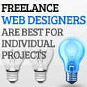Freelance Web Designers are Best for Individual Projects