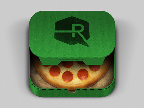 Pizza App mobile app icons
