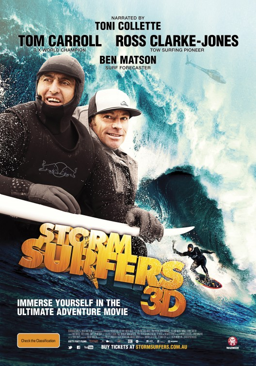 Storm Surfers 3D Movie Poster