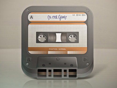 Tape mobile app icons