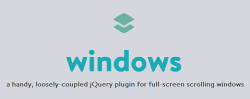 Windows: Full-Screen Scrolling Window with jQuery