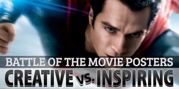 Battle of the Movie Posters: Creative vs. Inspiring