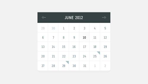 Free Pretty Vector Calender Vector Graphics
