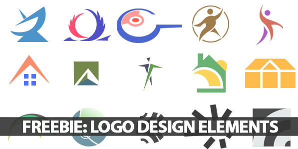 Freebie: 100 Logo Design Elements For Designers