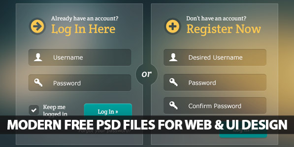 Modern Free PSD Files For Web and UI Design | Freebies