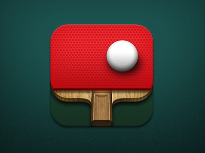 Ping Pong mobile app icons