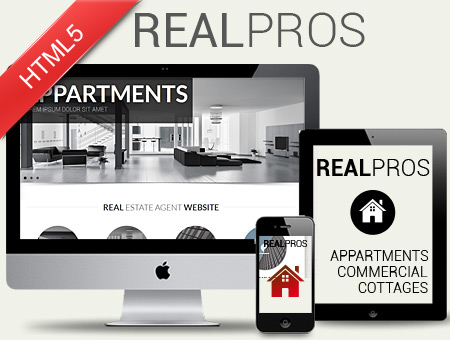 RealPros – Real Estate Agent Responsive Template