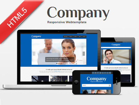 Company – Business Responsive Web Template