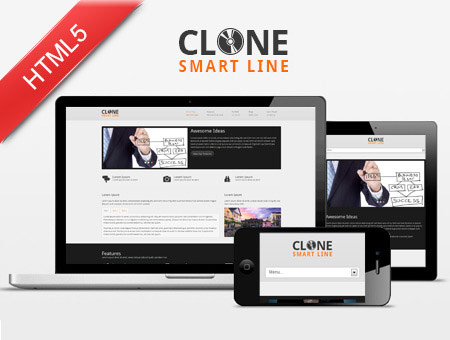 Clone – Multipurpose Responsive Website Template