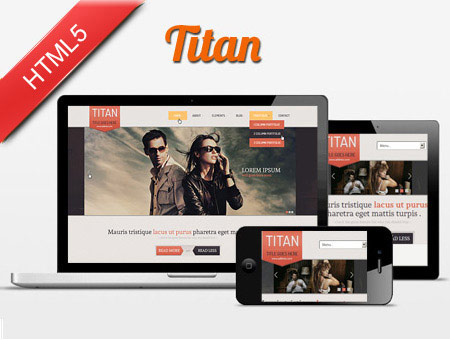 Titan – Responsive Business Web Template
