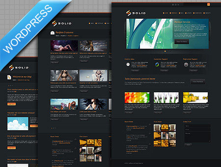 Solid Business WordPress Theme