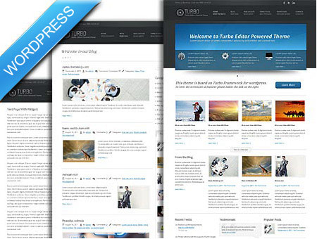 Turbo Charged WordPress Theme for business owners