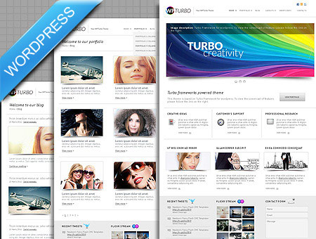 Turbo Creative WordPress Theme