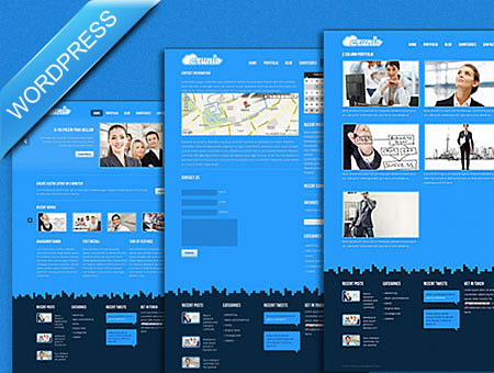 Crunio Business WordPress Theme
