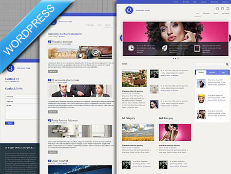 Design Magazine WordPress Blog Theme