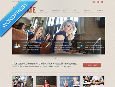 Educate Premium WordPress Theme