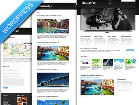 Lux Folio WordPress Theme