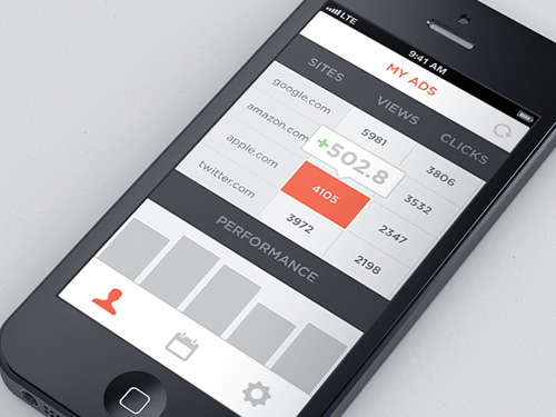 Flat Mobile UI Design and UX-12