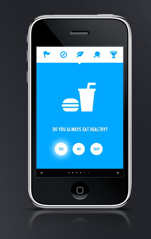 Flat Mobile UI Design with Remarkable User Experience | Design ...