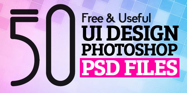 50 Useful UI Design Free PSD Files