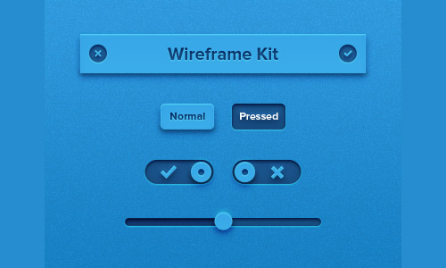 Tiny Wireframe Kit