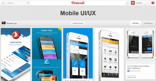 30 Best UI/UX Pinterest boards You Must Follow | Inspiration ...