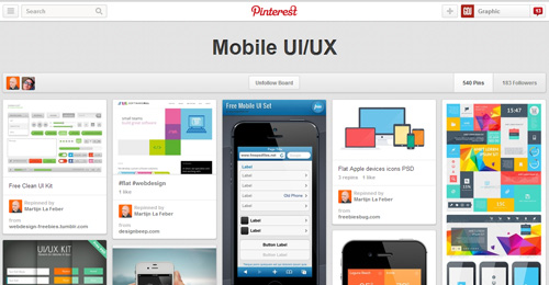 Best UIUX Pinterest Boards Must Follow-13