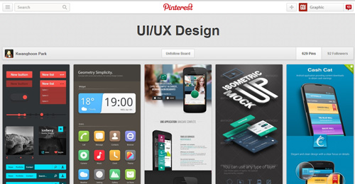 Best UIUX Pinterest Boards Must Follow-15