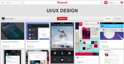 Best UIUX Pinterest Boards Must Follow-16