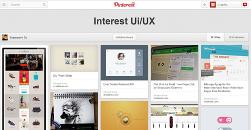 Best UIUX Pinterest Boards Must Follow-17