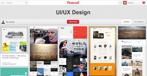 Best UIUX Pinterest Boards Must Follow-21
