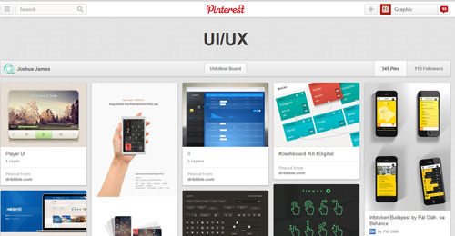 Best UIUX Pinterest Boards Must Follow-22