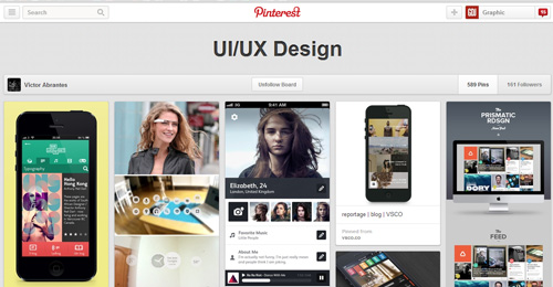 Best UIUX Pinterest Boards Must Follow-23