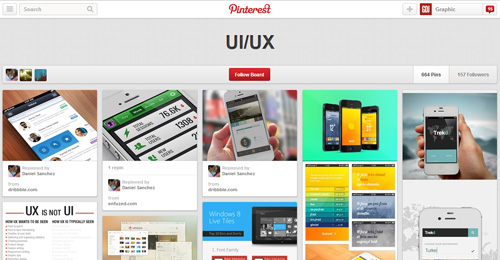 Best UIUX Pinterest Boards Must Follow-26