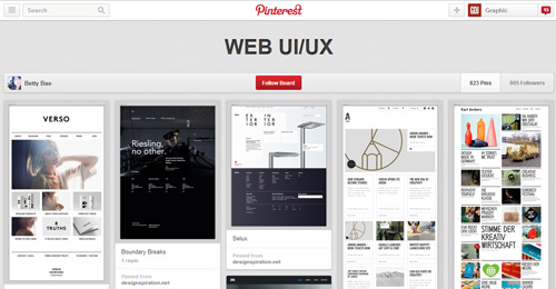 Best UIUX Pinterest Boards Must Follow-27